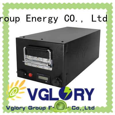 Vglory deep cycle battery solar factory price for solar storage