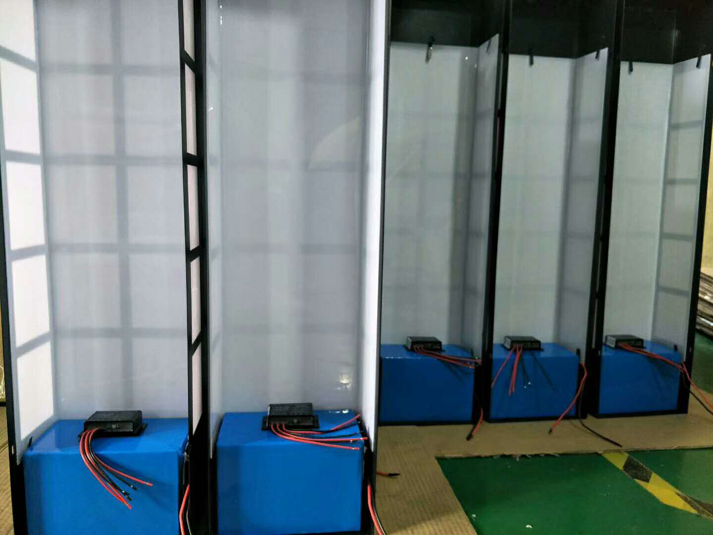 Powerful performance lithium battery for Led light project