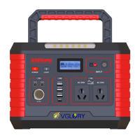 powerful emergency 500w  portable 220v off grid solar battery power generator lithium system