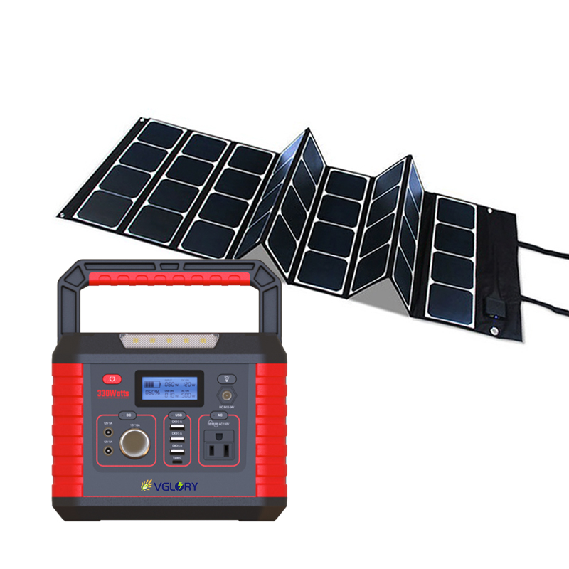 700w Portable System Power Solar Lithium Battery Unit 700wh Electrical Panel Box