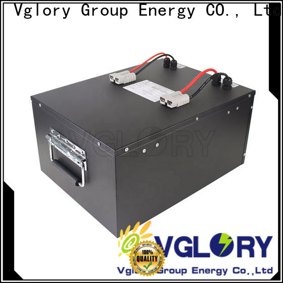 Vglory safety 36 volt golf cart batteries factory price for e-tourist vehicle