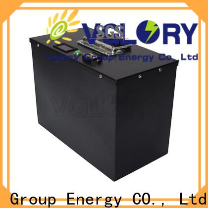 Vglory 48 volt golf cart batteries supplier for golf trolley