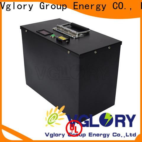 Vglory 36 volt golf cart batteries supplier for golf trolley