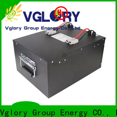 Vglory safety 48 volt golf cart batteries personalized for e-golf cart