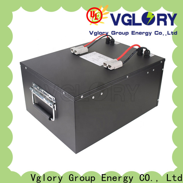 Vglory 48 volt golf cart batteries wholesale for golf trolley