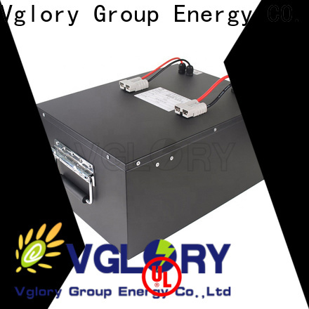 Vglory safety best golf cart batteries factory price for e-forklift