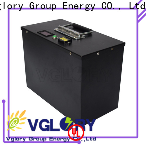 Vglory cost-effective golf cart batteries near me supplier for golf trolley