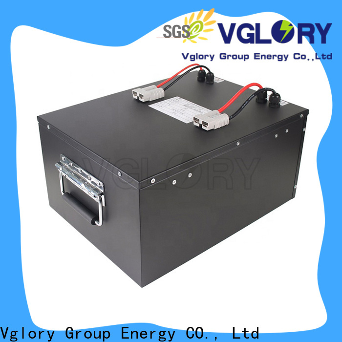 Vglory electric golf cart batteries supplier for e-forklift