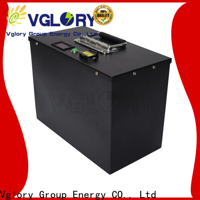 Vglory safety best golf cart batteries supplier for golf trolley