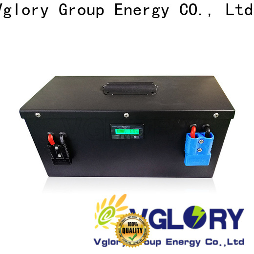 Vglory deep cycle battery solar wholesale for military medical