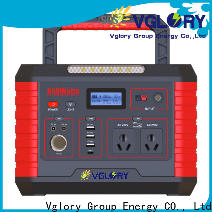 Vglory custom battery power station outdoor for wholesale