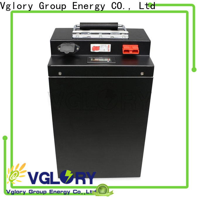 Vglory practical lithium ion rv battery supplier for telecom