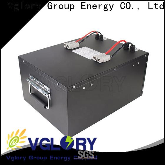 top quality 48 volt golf cart batteries supplier for e-tourist vehicle