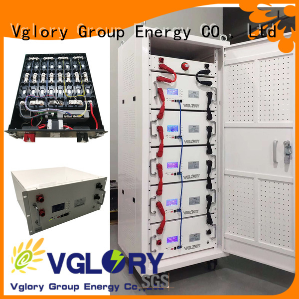 Vglory solar panel battery storage factory direct supply oem&odm